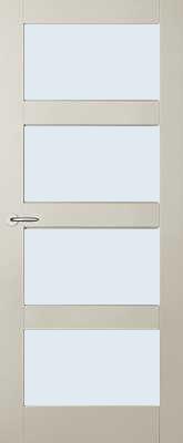 Austria Jersey voorgelakt (uitlopend) Blank glas binnendeur
