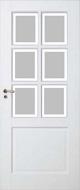 Skantrae SKS 1220 Satijn Facetglas binnendeur