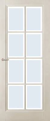 Austria Naarden Blank Facetglas binnendeur