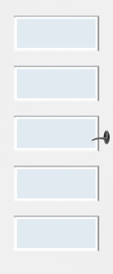 Bruynzeel BRZ NR 13 Blank facetglas binnendeur