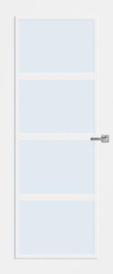 Bruynzeel BRZ 20 010 inclusief blank glas binnendeur