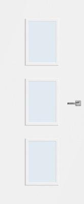 Bruynzeel BRZ 20 020 inclusief blank glas binnendeur