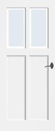 Bruynzeel BRZ NR 21 Blank Facetglas binnendeur