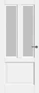 Bruynzeel BRZ 22 112 Satijn Facetglas binnendeur