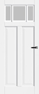 Bruynzeel BRZ 23 104 Satijn Facetglas binnendeur