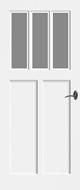 Bruynzeel BRZ NR 23 Satijn Facetglas binnendeur