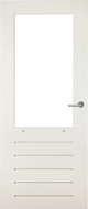 Bruynzeel BRZ 31 379 merbau zonder glas buitendeur