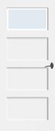 Bruynzeel BRZ NR 31B Blank Facetglas binnendeur