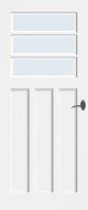 Bruynzeel BRZ NR 40 Blank Facetglas binnendeur