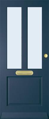 Bruynzeel BRZ 42 301 blank isolatieglas buitendeur