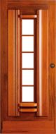 Bruynzeel BRZ 43 301 blank afgelakt zonder glas buitendeur