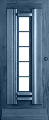 Bruynzeel BRZ 43 301 voorbehandeld zonder glas buitendeur