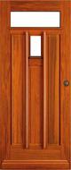 Bruynzeel BRZ 43 304 blank afgelakt zonder glas buitendeur