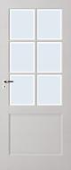 Skantrae E 020 Blank facetglas binnendeur