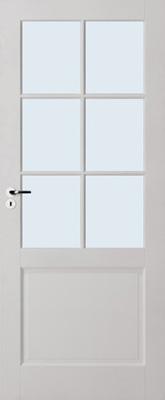 Skantrae E 020 Blank glas binnendeur