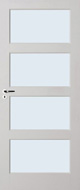 Skantrae E 035 Blank glas binnendeur