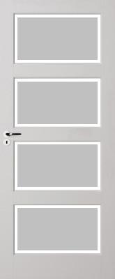 Skantrae E 035 Satijn facetglas binnendeur