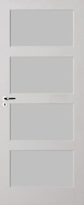 Skantrae E 035 Satijn glas binnendeur