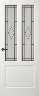 Skantrae E 040 Glas in lood 31 binnendeur