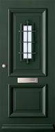Austria Hoorn blank isolatieglas buitendeur