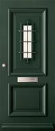 Austria Hoorn zonder glas buitendeur