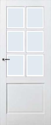 Skantrae SKS 220 Blank facetglas binnendeur