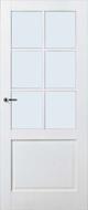 Skantrae SKS 220 Blank glas binnendeur