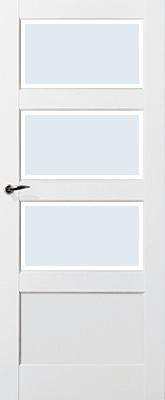 Skantrae SKS 235 C3 Blank facetglas binnendeur