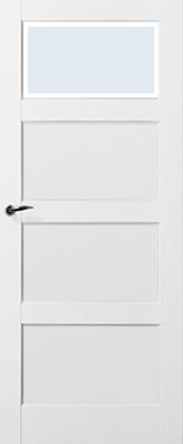 Skantrae SKS 235 C1 Blank Facetglas binnendeur