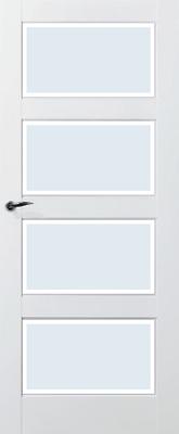 Skantrae SKS 235 Blank facetglas binnendeur