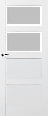 Skantrae SKS 235 C2 Satijn Facetglas binnendeur