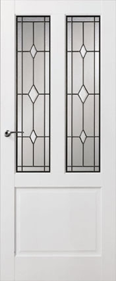 Skantrae SKS 240 Glas in lood 15 binnendeur