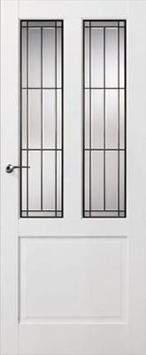 Skantrae SKS 240 Glas in lood 18 binnendeur