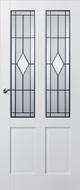 Skantrae SKS 242 Glas in lood 12 binnendeur