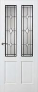 Skantrae SKS 242 Glas in lood 15 binnendeur