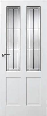 Skantrae SKS 242 Glas in lood 18 binnendeur