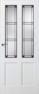 Skantrae SKS 242 Glas in lood 20 binnendeur