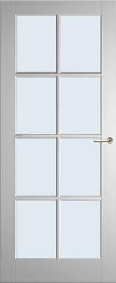 Weekamp WK6512 A1 Blank glas binnendeur