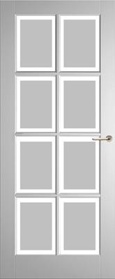 Weekamp WK6512 A1 Satijn facetglas binnendeur