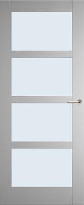 Weekamp WK6513 A1 Blank glas binnendeur
