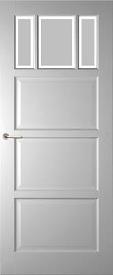 Weekamp WK6515 A1 Satijn Facetglas binnendeur