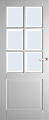 Weekamp WK6522 A1 Blank Facetglas binnendeur