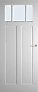 Weekamp WK6532 A1 Blank Facetglas binnendeur