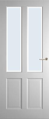 Weekamp WK6542 A1 Blank facetglas binnendeur