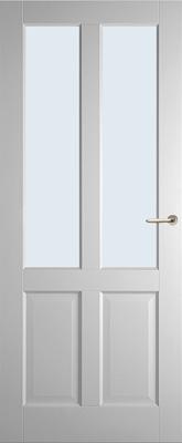 Weekamp WK6542 A1 Blank glas binnendeur