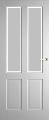 Weekamp WK6542 A1 Satijn facetglas binnendeur