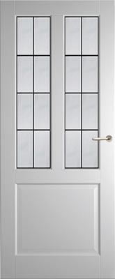 Weekamp WK6552 A1 Glas in lood 6 binnendeur