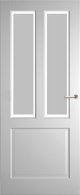 Weekamp WK6552 A1 Satijn Facetglas binnendeur