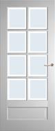 Weekamp WK6562 A1 Blank Facetglas binnendeur