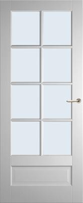 Weekamp WK6562 A1 Blank glas binnendeur